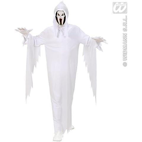 Widmann 02538  - Disfraz infantil de fantasma (con capa y máscara, talla 158)