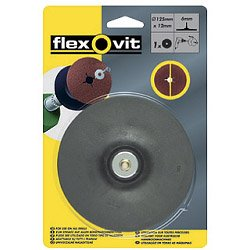 Flexovit Backing Pad for Drill Mountable Discs 125 x 12
