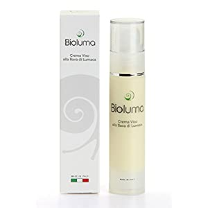 Bioluma Baba de Caracol Crema Facial Hidratante Nutritiva Anti-Envejecimiento con ácido Hialurónico Colágeno Vitaminas…