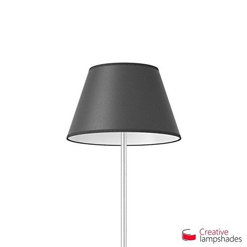 Creative Lampshades Empire Lampenschirm quarzgrau Electra - Durchmesser 50-30cm - H. 28cm, E27 Für Pendelleuchten, Nein -
