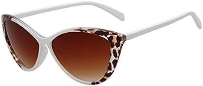 Mujer Full Frame leopardo detallada lado 52mm Ojo de gato gafas de sol