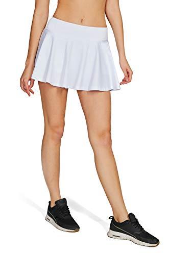 HonourSport Damen Tennisrock Skirt Minirock Sport Fitness Yoga Skort Falten XS-XL