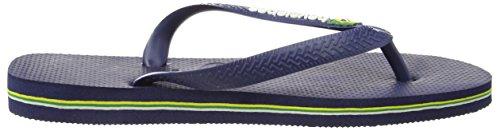 Havaianas–347134045. Brasil Logo, SANDALEN, Unisex Navy Blue