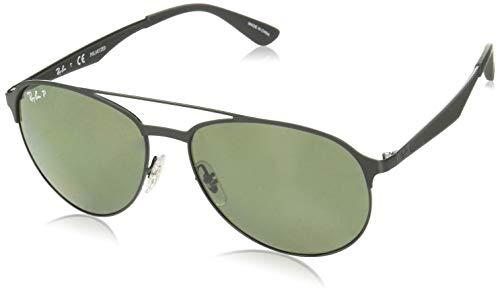 Ray-Ban Herren Mod. 3606 Sonnenbrille, Schwarz, 59