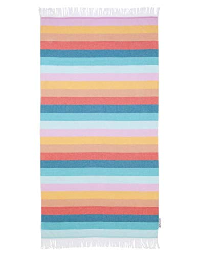 SunnyLIFE Übergroße Rechteck Baumwolltuch gedruckt Strand Decke werfen Fouta Islabomba -