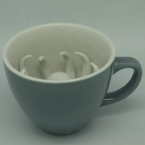 liopher Persönlichkeit kreative dreidimensionale Tierkeramik Tasse Octopus Wasser Tasse Octopus Tasse Kaffeetasse