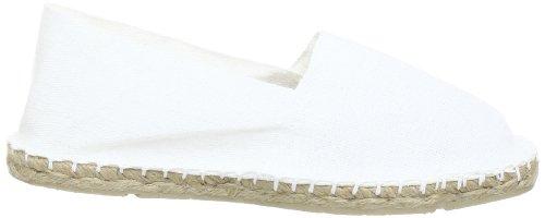 ESPADRIJ L'ORIGINALE classic 100 Unisex-Erwachsene Espadrille Halbschuhe Weiß (Weiß (blanc 10) 10)