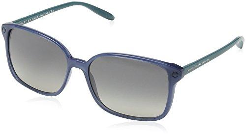 Marc Jacobs Damen MMJ 203/S Rechteckig Sonnenbrille, Blue Frame/Dark Grey Gradient