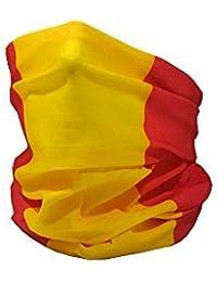 Bandera de España (Civil) / Bandera de España / la Rojigualda - RUFFNEK Multifuncional Sombreros Cuello calentador - Talla Única