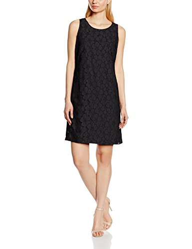 TAIFUN by Gerry Weber Paradise Red, Vestito Donna Nero (Schwarz 11000)