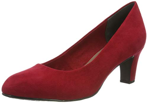 Tamaris Damen 1-1-22418-23 515 Pumps, Rot (LIPSTICK 515), 39 EU