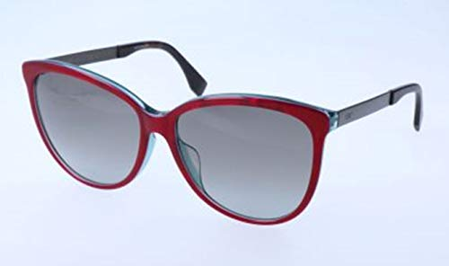 Fendi Damen FF 0095/F/S E0C/YE-58-16-145 Sonnenbrille, Rot, 58