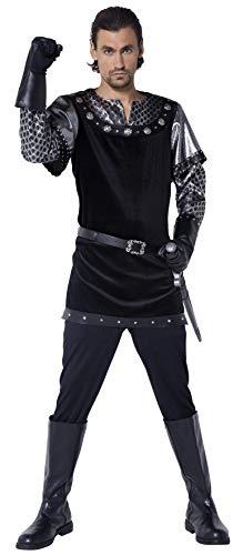 Nottingham Sheriff Kostüm Von - Smiffys, Herren Sheriff von Nottingham Kotüm, Tunika, Handschuhe, Hose und Gürtel, Größe: M, 36303