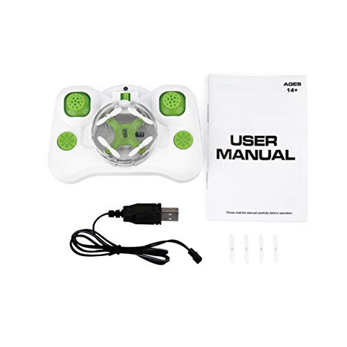 Tellaboull for Green Drone Mini 6 Axis RC Quadcopter Electric Helicopter for JJRC DHD D1