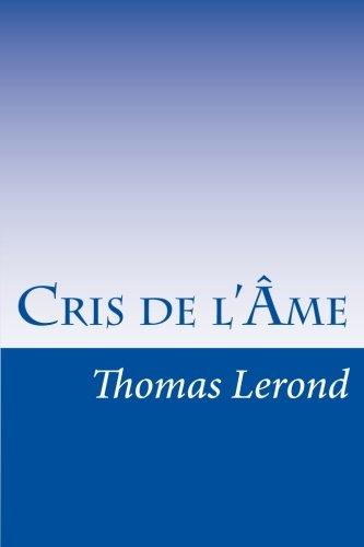 Cris de l'Âme par Thomas Lerond