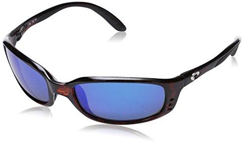 Costa Del Mar Sole 580Sonnenbrille Shiny Tortoise/Blue Mirror Einheitsgröße