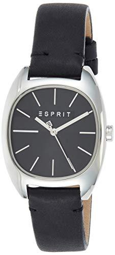 Esprit Damen Analog Quarz Uhr mit Leder Armband ES1L038L0025
