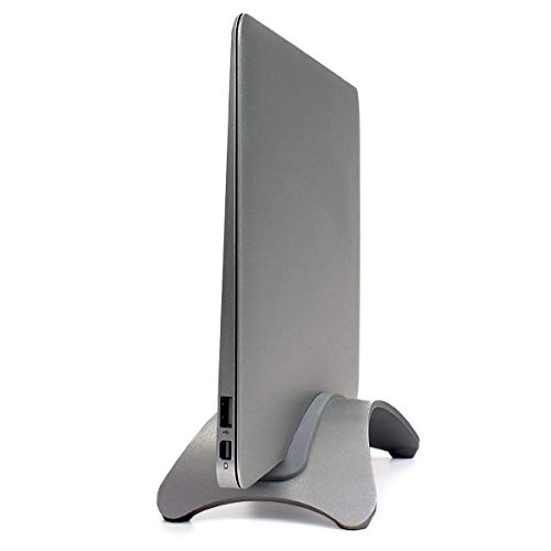 kilofly Arc Universeller Laptop-Ständer, verstellbar, Aluminium grau (space grey) -