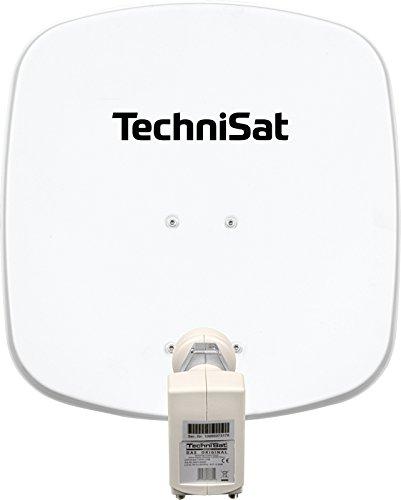 TechniSat DIGIDISH 45 Satellitenschüssel - 45 cm kleine Sat Anlage mit Wandhalterung und