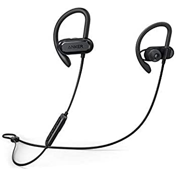 8de559b501c Bluetooth Headphones, Soundcore Spirit X Sports Earphones by Anker, with  Wireless Bluetooth 5, 12-Hour Battery, IPX7 SweatGuard Technology, Secure  Fit for ...