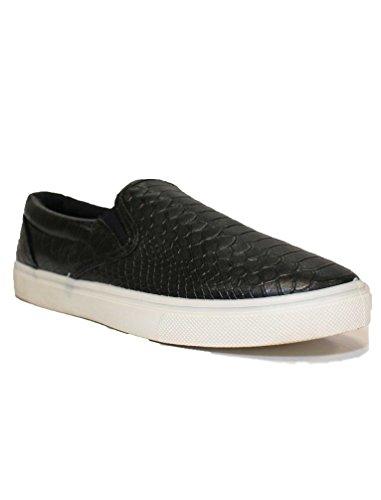 Generic ,  Damen Sneaker Low-Tops, schwarz - schwarz - Größe: 38