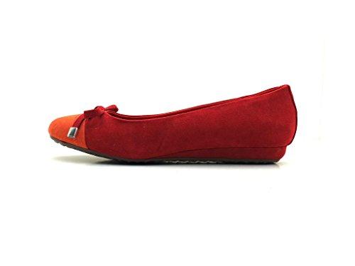 Dolce Vita - Ballerine Pantoufles Chaussures Femmes Rouge