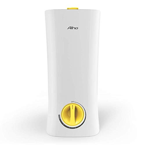Umidificatore Ambiente Ultrasuoni Aiho Grande Capacità 2.5L 2 IN 1 Aromaterapia Diffusore...