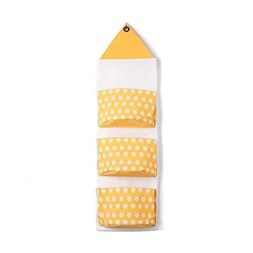 Xuxuou. 1 Stück Hängender Organizer Wand 3 Taschen Hängetasche Türtasche Hängeaufbewahrung Wand Aufbewahrungstasche für Zuhause, Schlafzimmer, Küche, Bad
