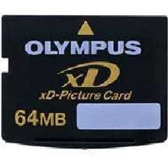 Olympus M-XD64P Carte mémoire flash 64 Mo NAND Flash xD-Picture Card