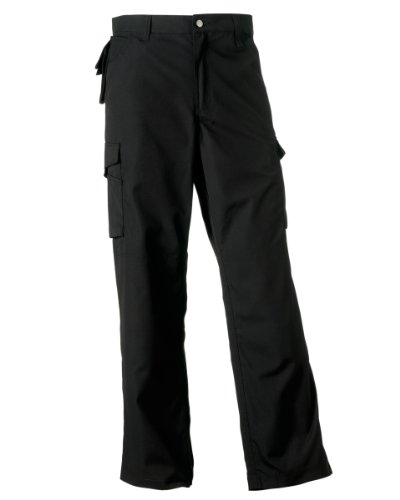 Russell Workwear Heavy Duty Workwear Trousers 34/L Black