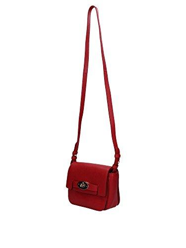 HH2495080L142 Mulberry Sac à bandoulière Femme Cuir Rouge Rouge