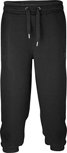 BACKSPIN Sportswear - Jogginghose Basic - black Size S
