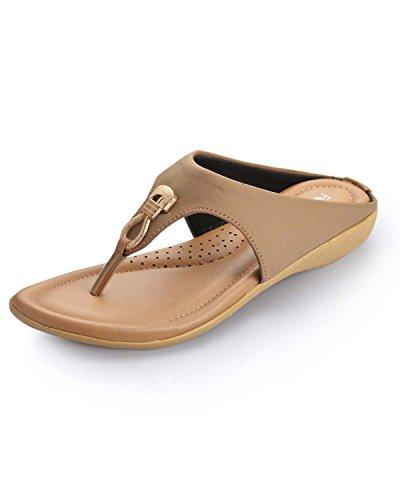 Footsoul Comfy Women's Slipper ( Beige ) ( FSL-30-07 )