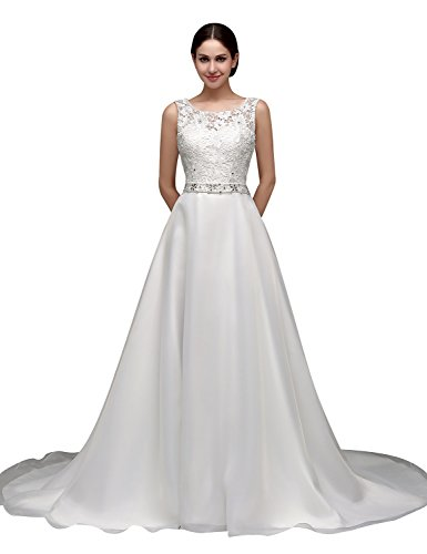 Clearbridal Women's A-line Sleeveless Floor Length, used for sale  Delivered anywhere in UK