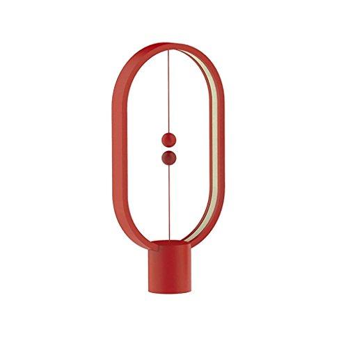 Magnético Heng Balance lámpara de Mesa de Alta tecnología Simple Creativo Inteligente LED Balance magnético Medio vacío Switch lámpara de Escritorio, con USB Puerto de Carga Oficina
