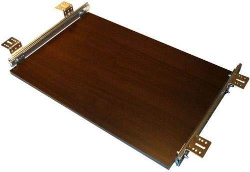 Tastaturauszug Eiche Wenge Dekor 80x30 cm Nutzhöhe 57mm Schublade für Tastatur - Eiche Tastatur