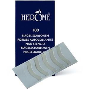 Herome Nagelschablonen, 1er Pack (1 x 100 Stück)