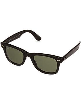 Ray-Ban Hombre Gafas de sol inyectadas Wayfarer, Negro