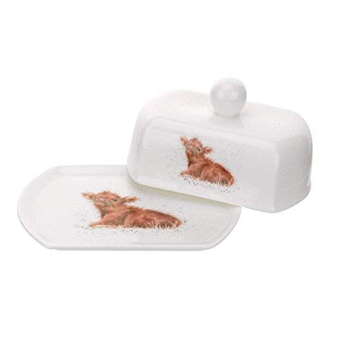 Wrendale Covered Butter Schüssel (Calf) Royal Worcester Fine Porcelain