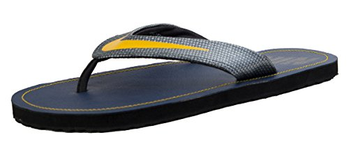 Nike Men's Chroma Thong 4 Synthetic Casual Slippers (8 UK / INDIA (9 US), Navy / Titanium)  available at amazon for Rs.999