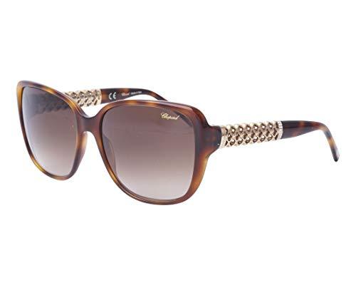 Chopard Sonnenbrillen (SCH-184-S 0752) havana - gold - grau-braun verlaufend