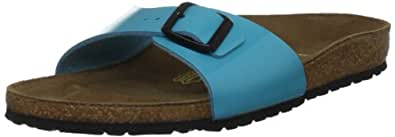 Birkenstock Women's Madrid 26 UK483 Blue Slides Sandal 3 UK 36 EU