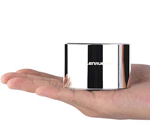 Drahtlose Bluetooth Mini-Stecker Audio Portable Outdoor-Subwoofer Drahtlose Bluetooth-Karte Lautsprecher, Geschenk Lautsprecher, 1000Mah, USB-Schnittstelle, Wasserdicht, Staubdicht, Anruf, TF, PC Samsung Portable Receiver