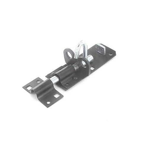 Securit Padlock Bolt Black 200mm S1413
