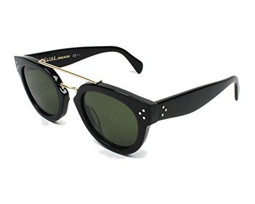 Celine 41043 Black / Green Kunststoffgestell Sonnenbrillen