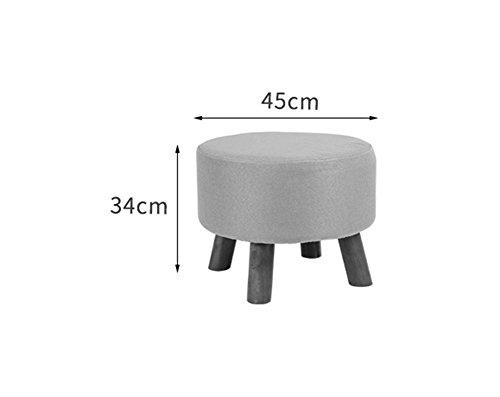 Hjhy sgabello per divano sgabello in legno massello sgabello panca