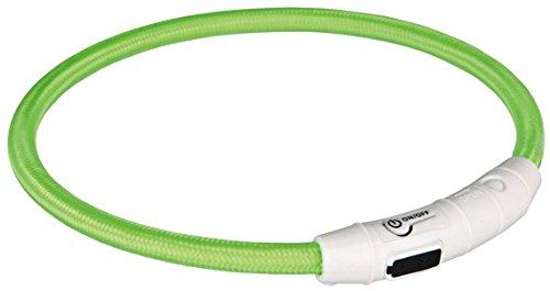 Trixie USB Leuchtring - L/XL - Grün