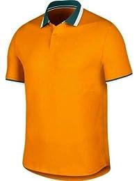 detailed pictures 2b387 d9a61 Nike M NKCT ADV Polo CLSSC Poloshirt, Herren, Mehrfarbig (Orange PeelOrange