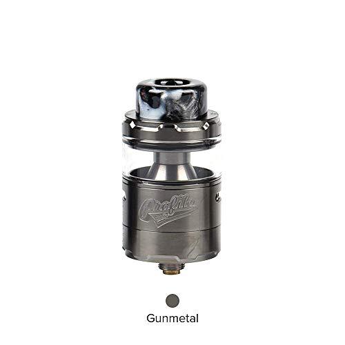 Wotofo Profile Unity RTA Atomizer, E Zigarette Verdampfer 3.5ml 510 Thread mit OFRF nexMesh coil Verdampferköpfe Ohne Nikotin Ohne Tabak (Gunmetal)