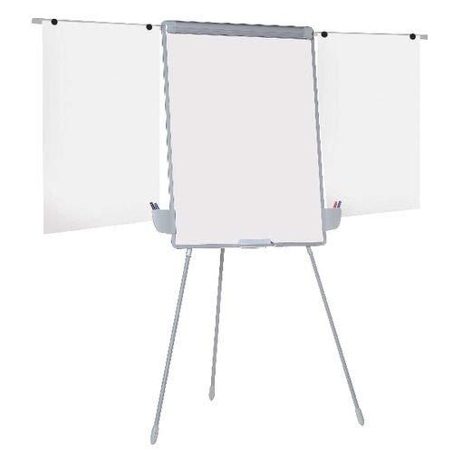 Office Depot magnetische whiteboard flipchart mit Stativ, Staffelei, 1000H x 700Wmm (Staffelei-stativ-flipchart)